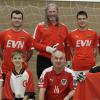 Die Österreichische Priesternationalmannschaft bei ihrer letzten Europameisterschaft